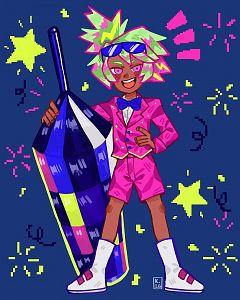 Firecracker Cookie (Fantabulous Neon Party)