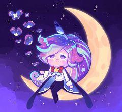 Cream Unicorn Cookie (Nebula Butterfly)