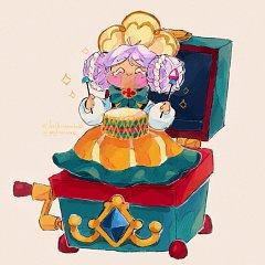 Macaron Cookie (Drummer Doll)
