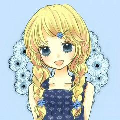 Blue Daisy (Pixiv86359)