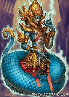 Demonic Dragon Mage Raksha