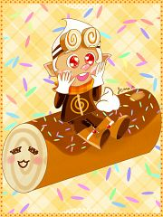 Roll Cake Cookie
