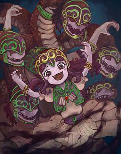 Lamia Reptilianne