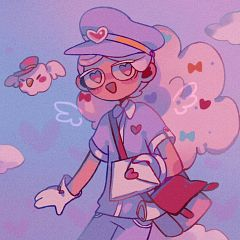 Cotton Candy Cookie (Love Messenger)