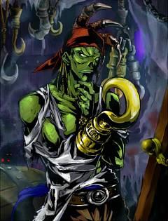 Hook-wielding Zombie