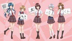 "The Low Tier Character ""tomozaki-kun"""