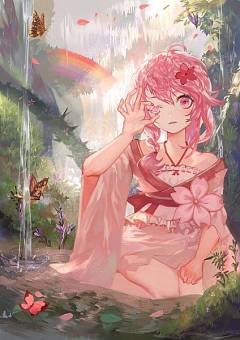 Sakura Donggang Of The Early Summer