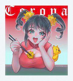 Corona-chan