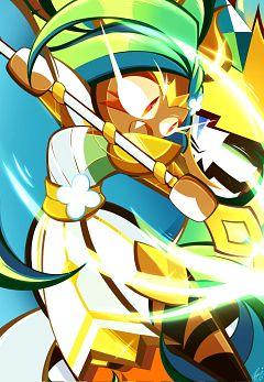 Tiger Lily Cookie (Golden Warrior)