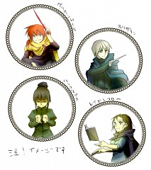 The Hogwarts Founders