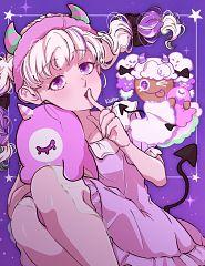 Popcorn Cookie (Movie Night)