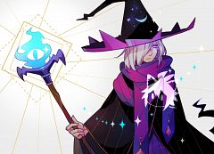 Wizard Cookie (Azure Flame Staff)