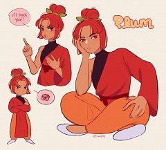 Plum Cookie