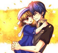 Okazaki Tomoya Okazaki Ushio Page 2 Zerochan Anime Image Board
