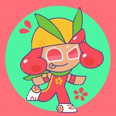 Grapefruit Cookie