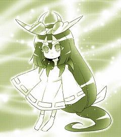 Goddess Of The Crescent Moon Tsukuyomi