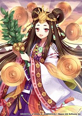 Empress of the Land of the Rising Sun Himiko