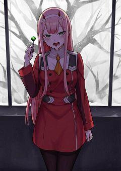 Zero Two Darling In The Franxx Mobile Wallpaper Zerochan Anime Image Board