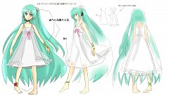 Project DIVA White One Piece