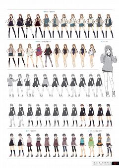 Tokyo Xanadu Official Visual Collection