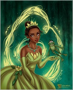Tiana (Frog Prince)