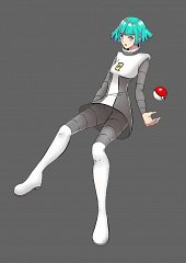 Team Galactic Underling (Female)