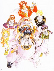 Sakura Wars Illustrations The Origin + Tribute