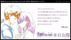Fate/stay night : Heaven's Feel - III Spring Song