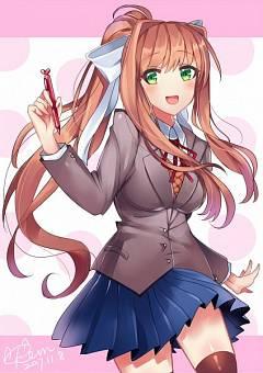 Monika (Doki Doki Literature Club!)