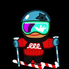 Skater Cookie (Ski Rookie)