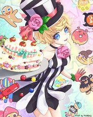 Birthday Cake Cookie (Afternoon Tea)