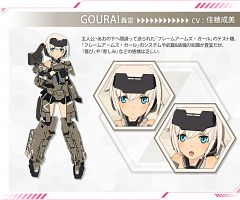 Gourai (Frame Arms Girl)