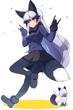 Silver Fox (Kemono Friends)