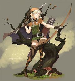 Elf (Dragon's Crown)