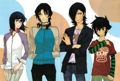 Kouga Yun X Gundam 00 - Design Works
