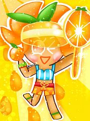 Orange Cookie (Sun-kissed Summer)