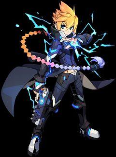 Gunvolt (Armed Blue Gunvolt)