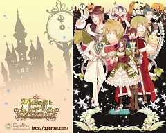 The 24 O'clock Bell And Cinderella ~halloween Wedding~