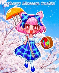 Cherry Blossom Cookie (Sweetest Picnic)