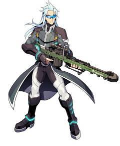 Asimov (Armed Blue Gunvolt)