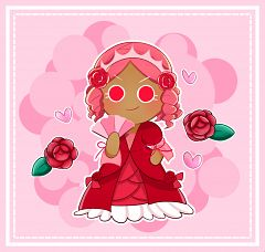Princess Cookie (Red Rose Gown)