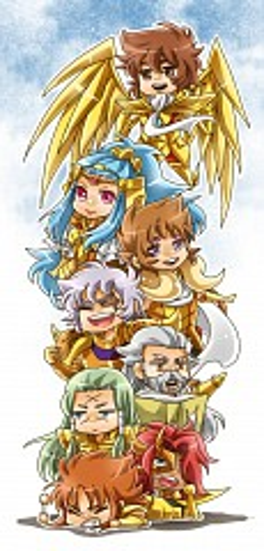 Gold Saints - Omega