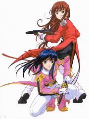 Sakura Wars Illustrations The Origin + Tribute
