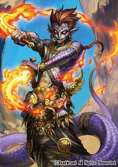 Demonic Dragon Berserker Yaksha