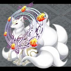 White Face Golden Fur Tamamo