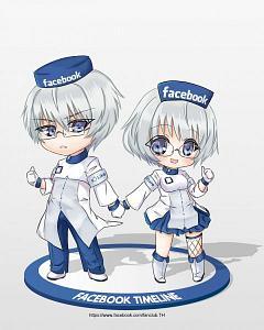 Facebook-tan