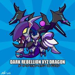 Dark Rebellion Xyz Dragon