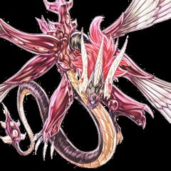 Majestic Red Dragon