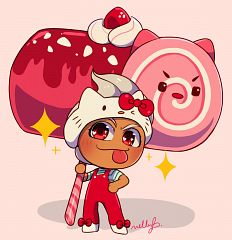 Roll Cake Cookie (Hammer Of Cute)