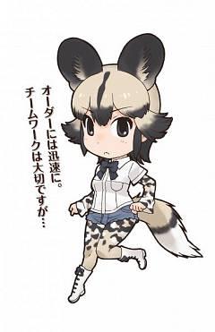 African Wild Dog (Kemono Friends)